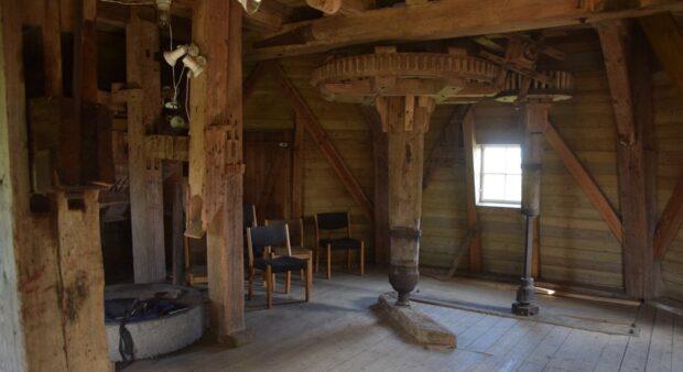Karrebæk Mølle, interiør