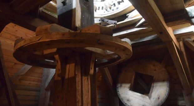 Karrebæk Mølle, interiør, detalje